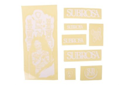 Subrosa 2011 Tiro Sticker Set